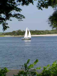 Cruising the Amelia River - Amelia Island, Florida