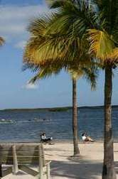 View from John Pennecamp State Park in Key Largo
